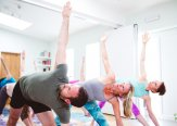 Iriness yoga class Scott Johnson & Ingrid Palmer