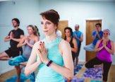 Iriness yoga class Vrksasana