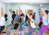Iriness yoga class Utkatasana