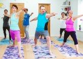 Iriness yoga class Virhabadrasana